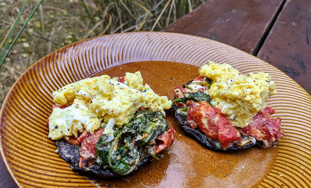 Stuffed Breakfast Portobellos