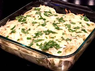 Chicken Enchiladas with Roasted Salsa Verde