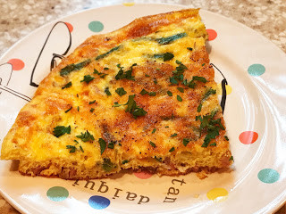 frittata slice
