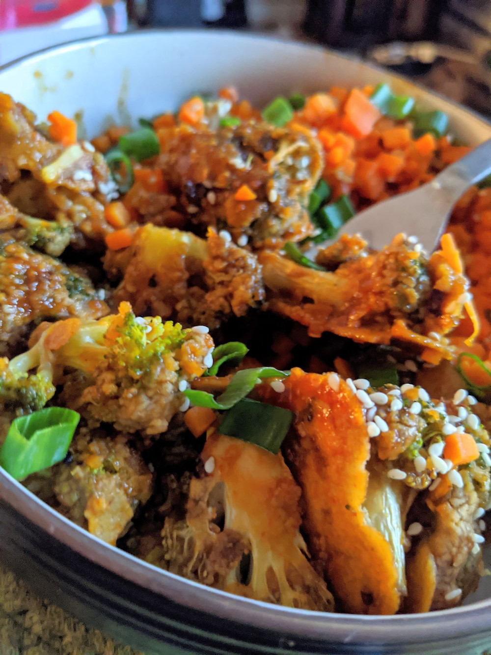 Korean Broccoli Wings