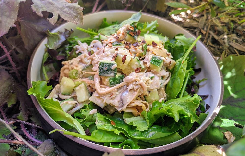 Sesame Banana Blossom Salad