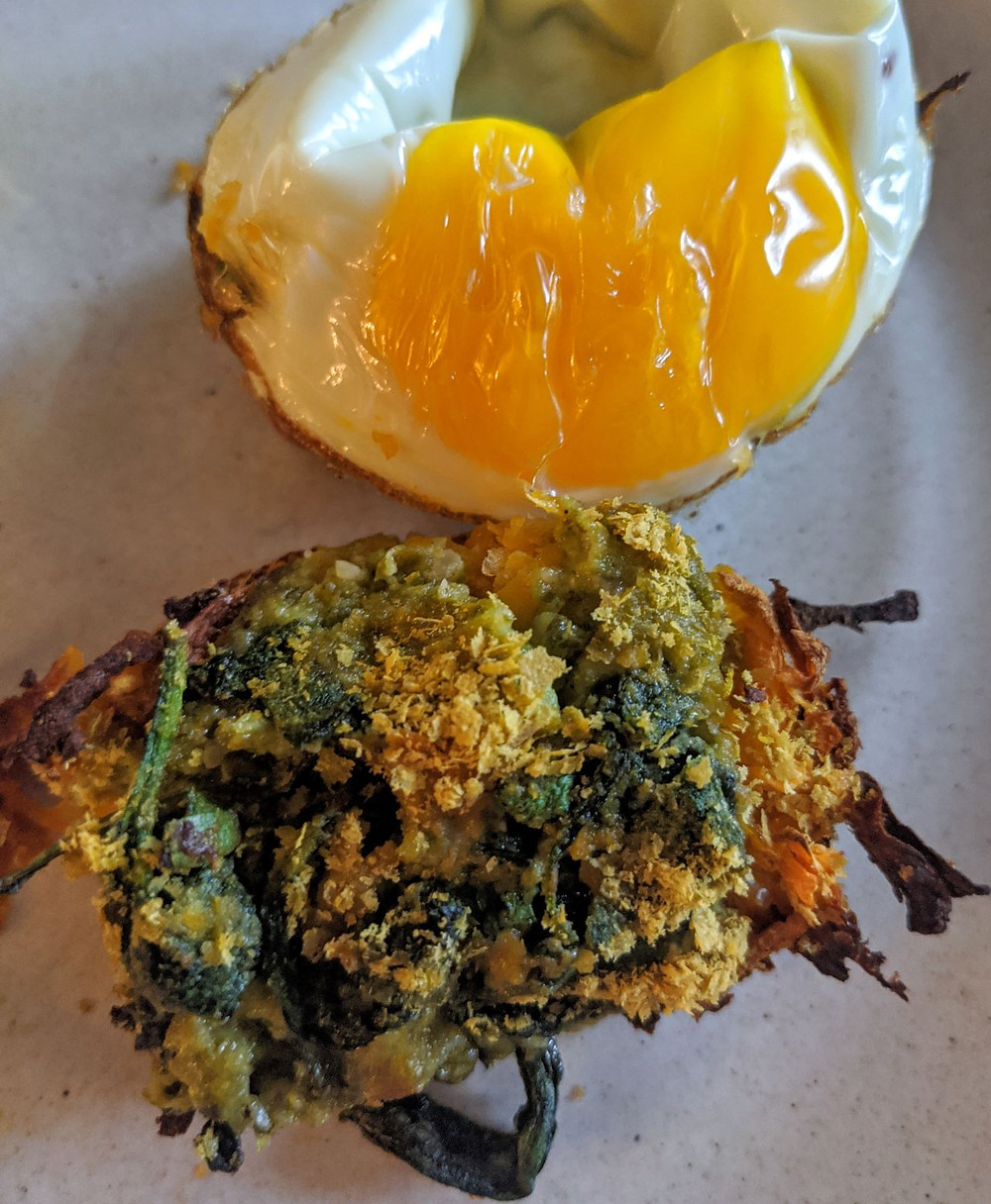Sweet Potato Hash Egg & Eggless Muffins