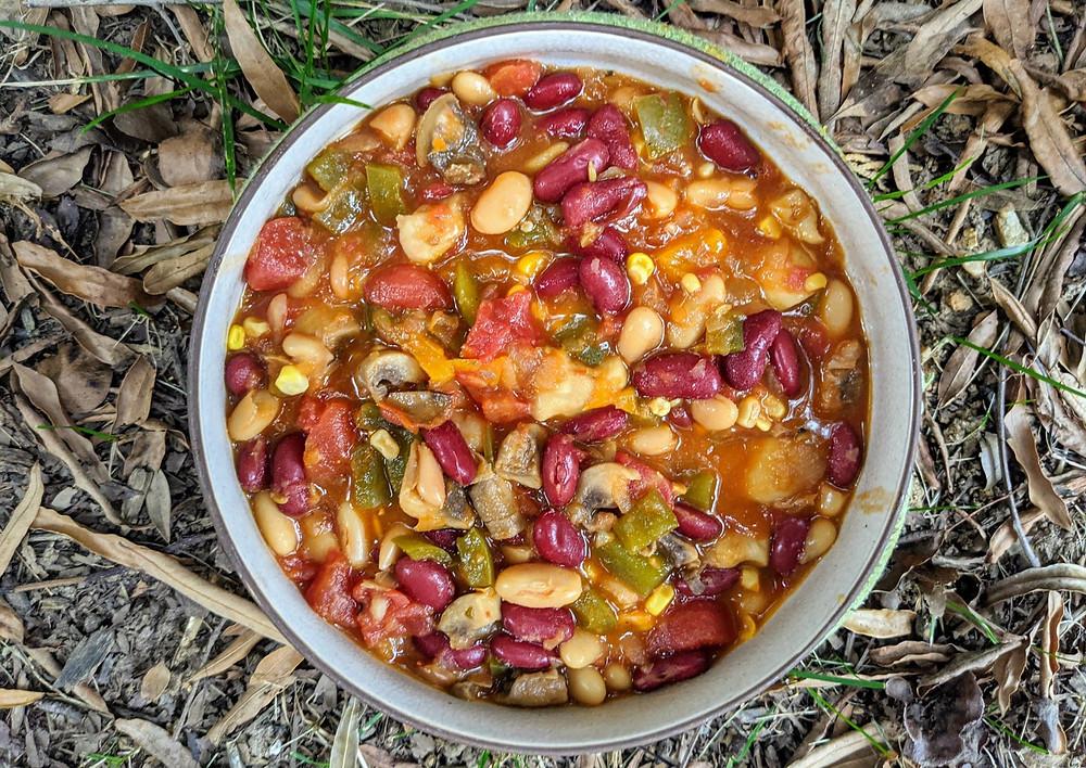 Oktoberfest Bean Chili