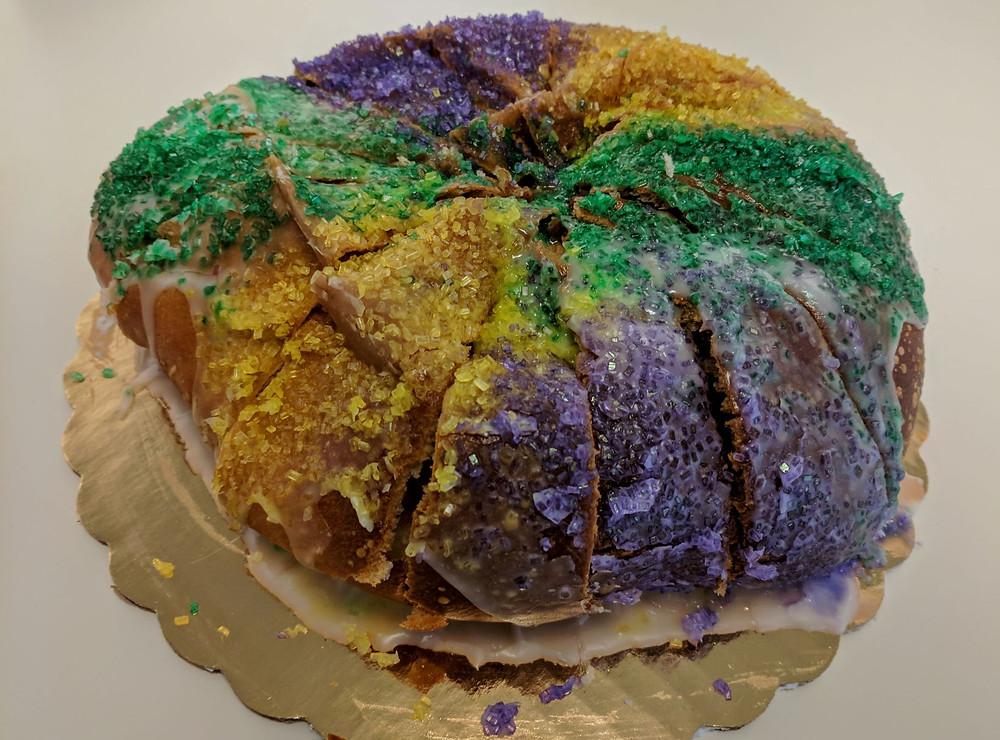 vegan king cake