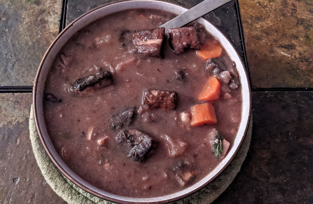 mushroom roast stew