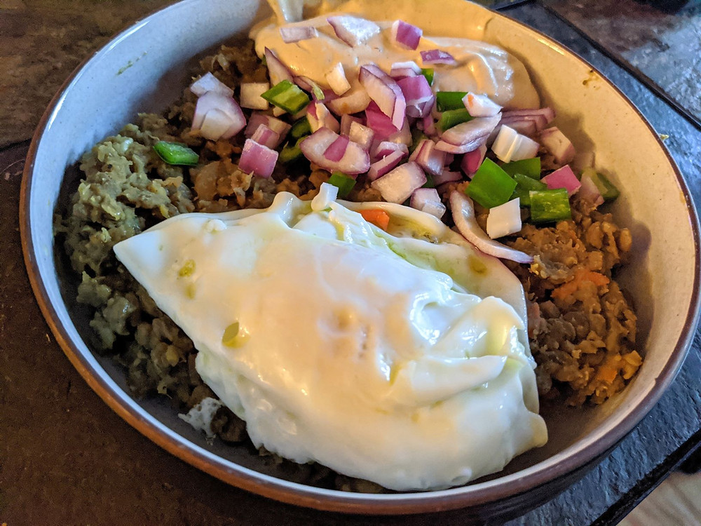 Lentil Curry Masabacha