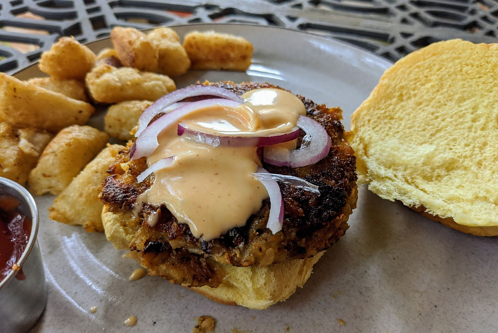Butternut Squash Apple Burgers