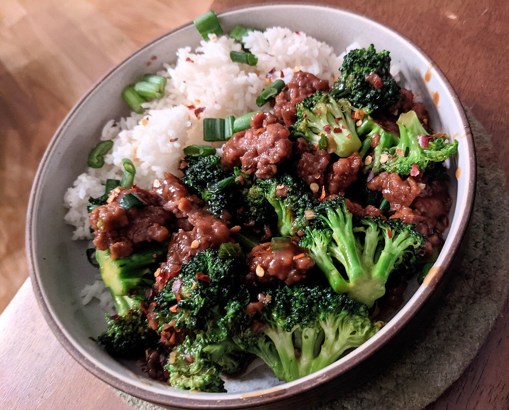 Ginger Beyond Beef and Broccoli