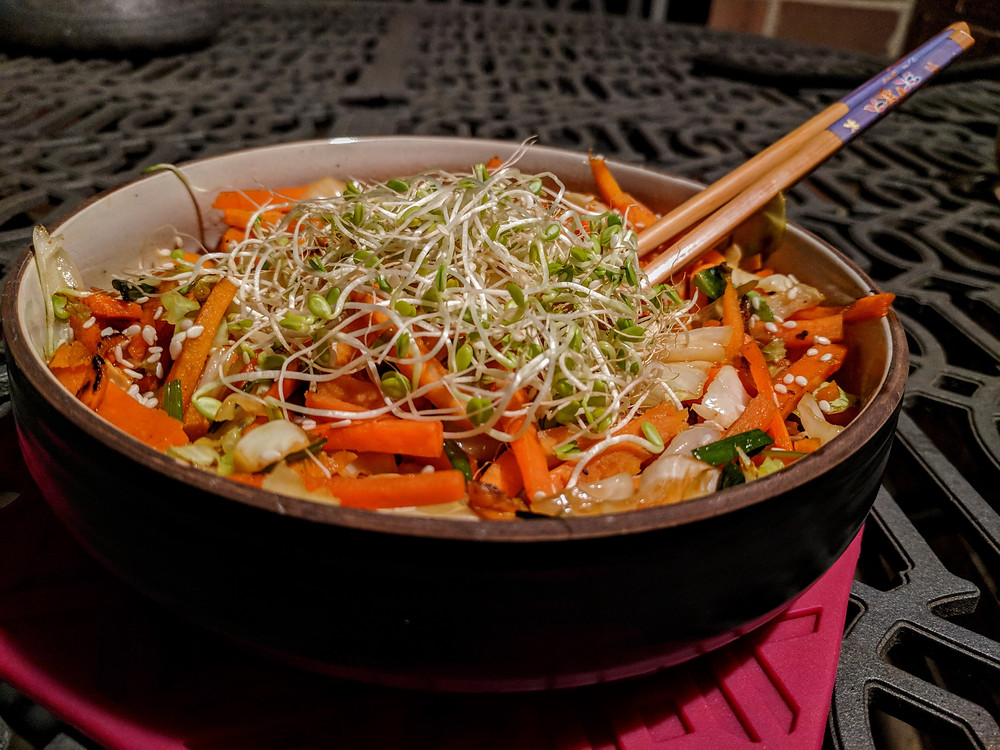 Chow Mein Sweet Potato Noodles