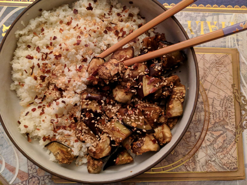 Eggplant Kabayaki
