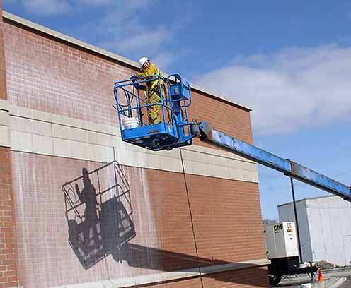 Commercial Building Pressure Washing in Northern Virginia & Washington DC