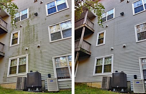 Condominium Pressure Washing in Alexandria & Washington DC