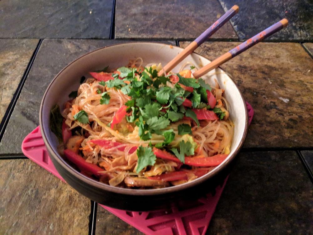 glass noodle bowl