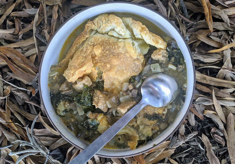 Beyond Sausage, Kale, And Mushroom Pot Pie