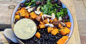 Black Rice & Butternut Squash Bowls