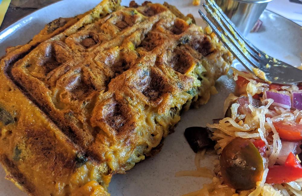 Spaghetti Squash Waffles