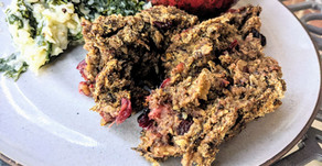 Mushroom Stuffing with Cranberries