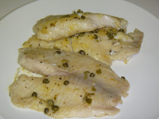 tilapia with capers