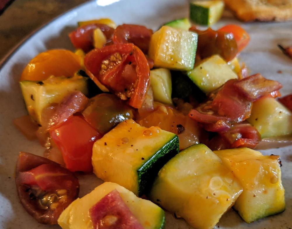 zucchini tomato saute