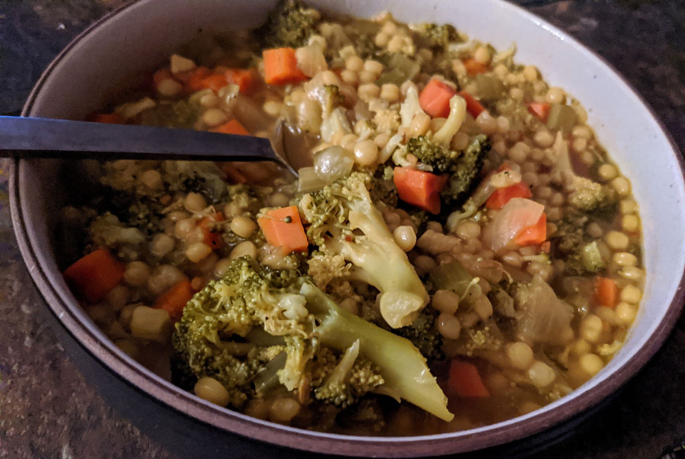 broccoli couscous