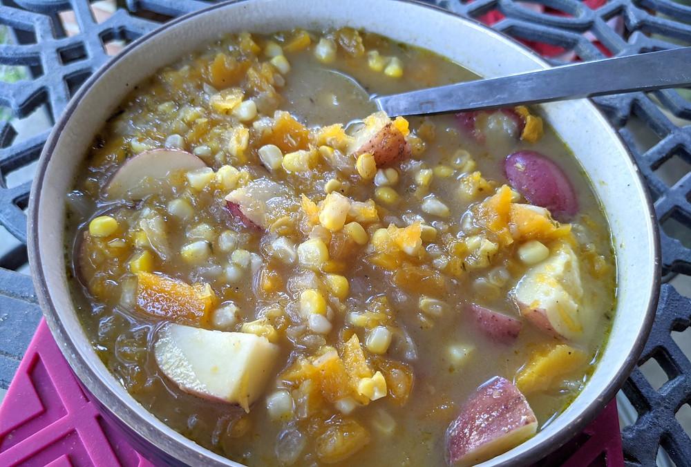 Butternut Squash & Corn Chowder