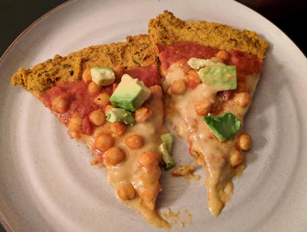chickpea pizza