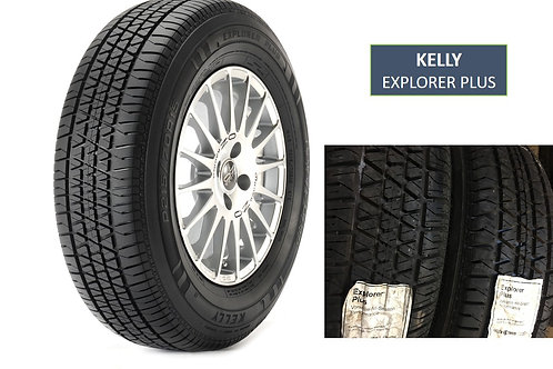 Set of 4 - 205/60/15 NEW Kelly Explorer Plus Tires