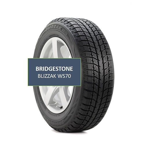 Set of 4 - 215/70/15 NEW Bridgestone Blizzak SNOW Tires