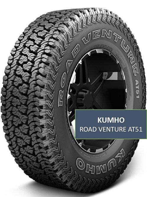 Set of 4 - 265/75/16 NEW Kumho All Terrain Tire