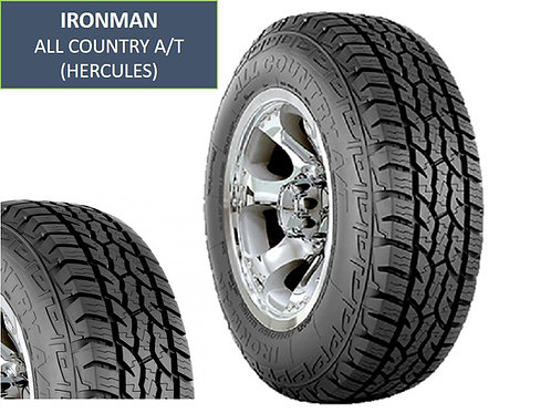 Set of 4 LT245/75/16 NEW Ironman Tires