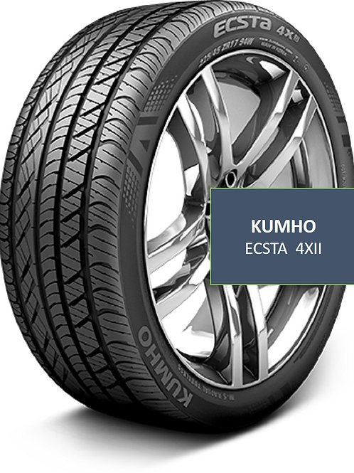 Pair of 2 - 225/45/17 NEW Kumho Ecsta 4XII Tires