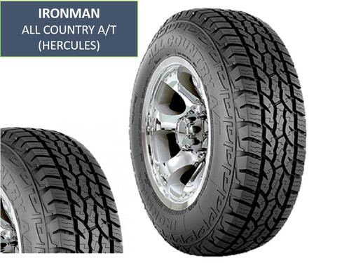 brand new ironman all country at tires size lt for sale made by hercules these are new tires with stickers