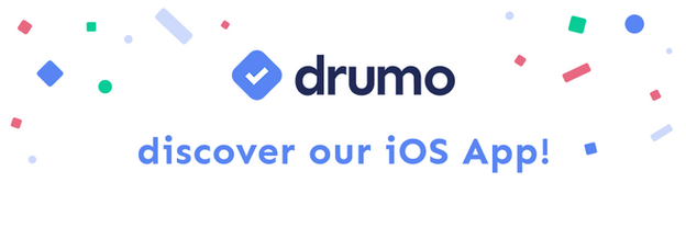 Take Drumo with you: get our iOS app