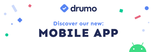 Introducing... Drumo App for Android!