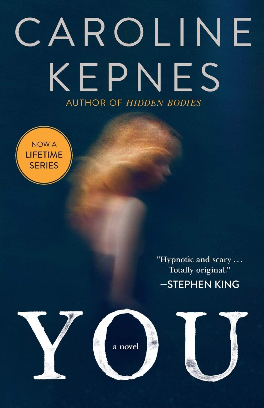 you book cover by Caroline Kepnes