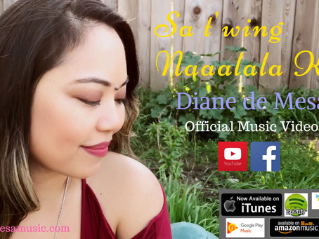 "Diane releases new original single, ""Sa t'wing naaalala ka"" official music video!"
