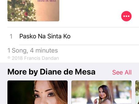 """Pasko na Sinta ko"" (single"" now available on iTunes/Apple Music/CdBaby!"