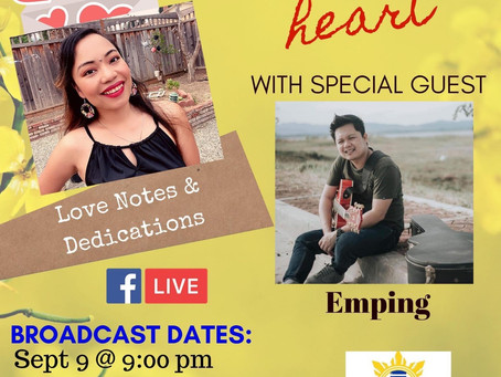 """Emping"" as special guest for ""Heart to heart"" with DJ Diane"