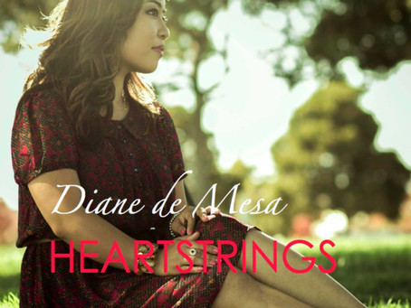 "Diane de Mesa's 2nd album, ""Heartstrings"" OUT NOW!"