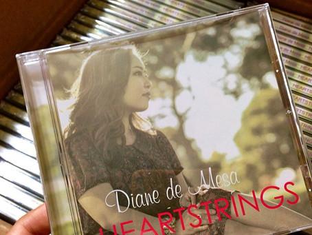 "Diane de Mesa releases sophomore acoustic covers album, ""Heartstrings"". COMING SOON!"