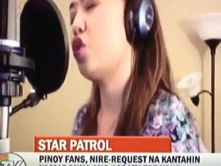 Diane de Mesa short clip featured on TV Patrol!