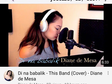 Di na babalik - This Band (cover) - Diane de Mesa