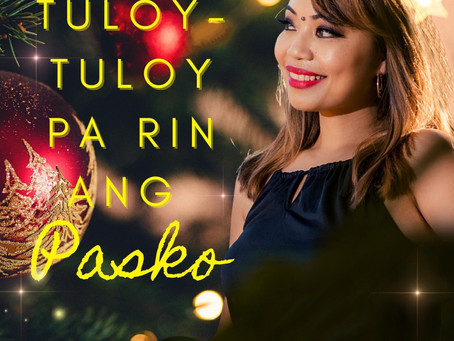 "Diane de Mesa releases a Christmas pandemic single, ""Tuloy-tuloy pa rin ang Pasko"""