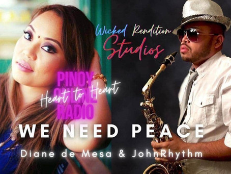 """We need peace"" collab with JohnRhythm"