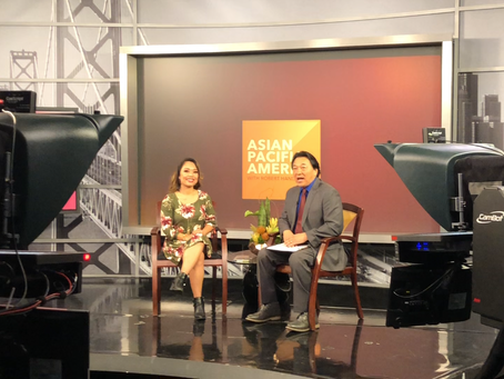 "NBC Bay Area guesting for ""Asian Pacific America"" with Robert Handa"