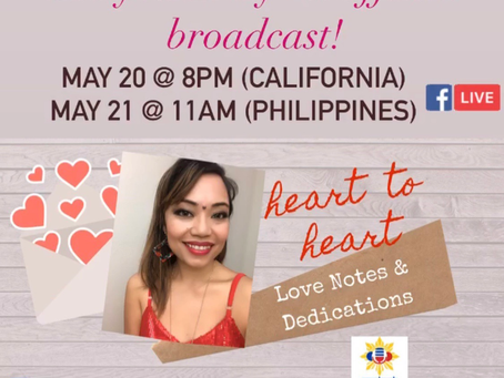 Diane de Mesa now broadcasting at PinoyOnlineRadio