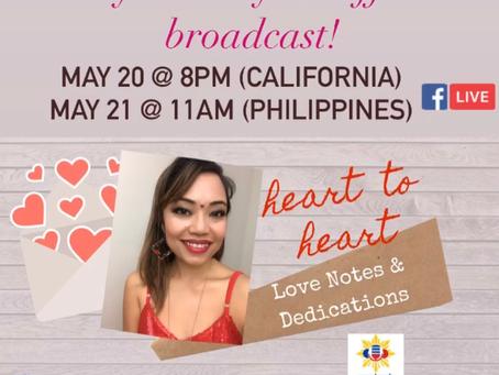Diane de Mesa now broadcasting at PinoyOnlineRadio