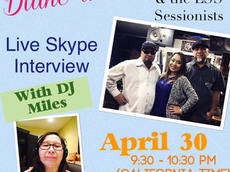 Live Skype interview with DJ Miles in Raydio Filipino with LSS Sessionists!