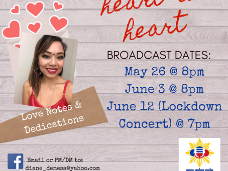 Upcoming Broadcast Dates!