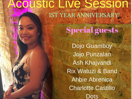 Acoustic Live Session marks 1st year Anniversary!